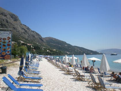 Corfu Beaches- Barbati Beach-Corfu Island