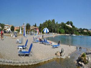 Gouvia Beach-Corfu Island