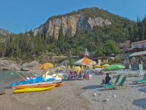 Liapades beach-Corfu Island