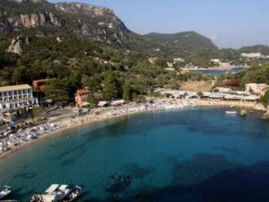 Paleokastritsa Beach-Corfu - 科孚島 - Corfu Island - Κέρκυρα - Korfu - קורפו - कोर्फू - コルフ - Корфу - Krf - Крф