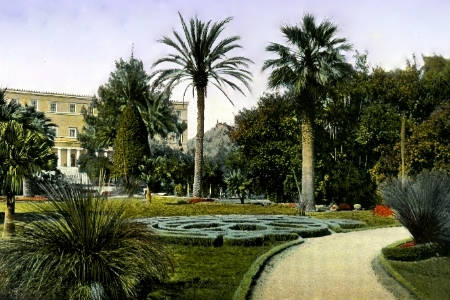 Royal Gardens-Athens