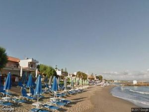 Agia Marina Beach Crete