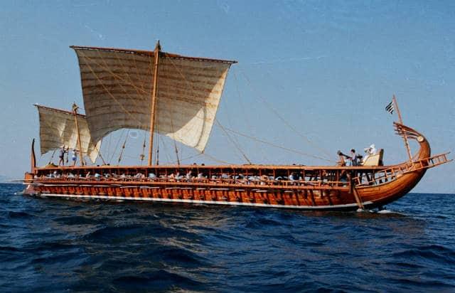 Αρχαίο πλοίο της Αθήνας