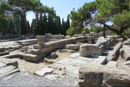 Ancient Ialyssos Rhodes Αρχαιολογικός χώρος Αρχαίας Ιαλυσού, Ρόδος, Ελλάδα