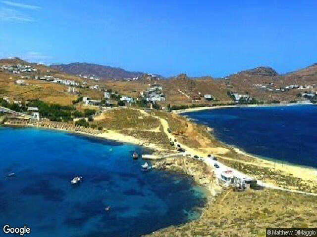 Divounia Beach Mykonos Beaches