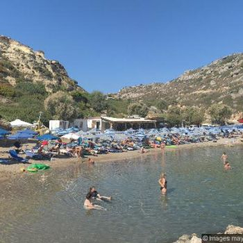 Ladiko Beach Rhodes Beaches