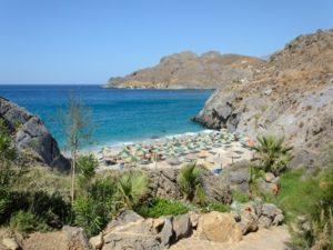 Micro Ammoudi Beach Crete