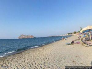 Platanias Beach Crete
