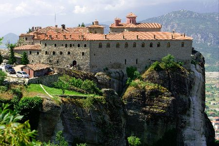St Stephen monastery Meteora