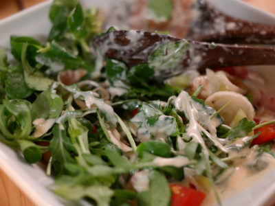 Arugula salad - Σαλάτα με ρόκα