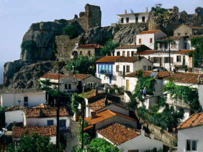 Chora Samothrace island Thrace Greece