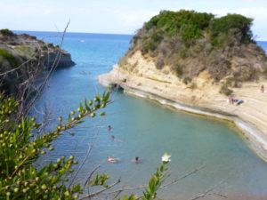 Corfu Beaches Canal de l´Amour Corfu