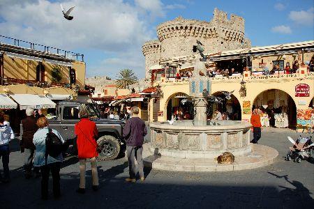 Ippokratous Square - Πλατεία Ιπποκράτους, Ρόδος