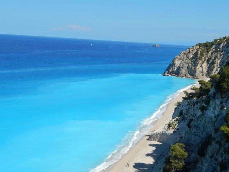 Egremni beach Lefkada - Παραλία Εγκρεμνοί Λευκάδας