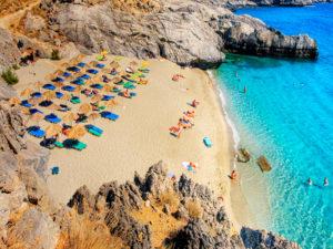 Damnoni Beach Crete
