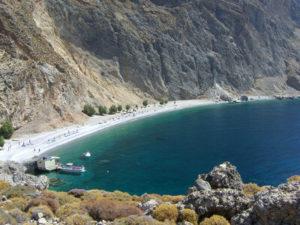Glyka Nera Crete Παραλία Γλυκά Νερά - Σφακιά, Χανιά, Κρήτη