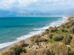 Kommos Beach Crete Παραλία Κομμός, Ηράκλειο, Κρήτη, Ελλάδα