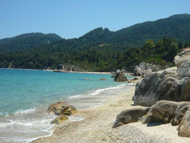 Fava Beach Sithonia Halkidiki