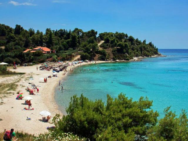 Koviou Beach Sithonia Halkidiki