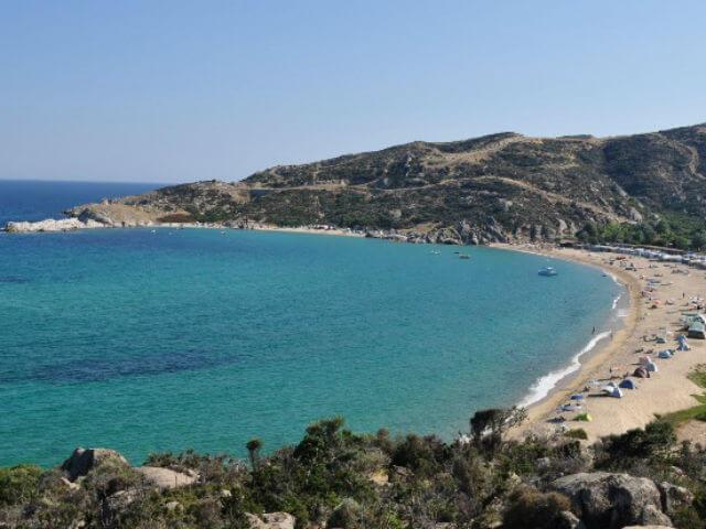 Kriaritsi Beach Sithonia Halkidiki