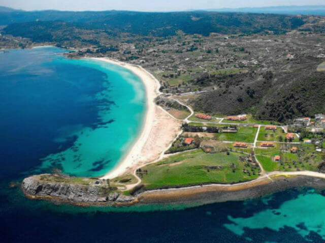 Livrohio Beach Sithonia Halkidiki