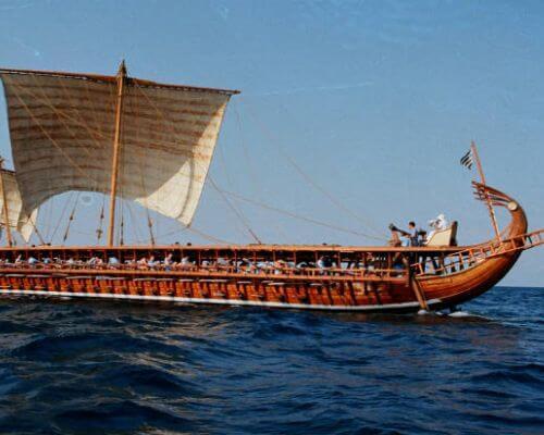 Ancient Athens Ship