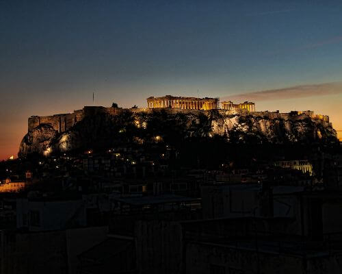 Athens Greece Acropolis