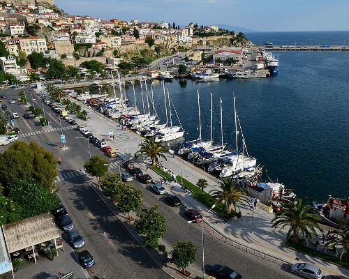 Kavala harbour