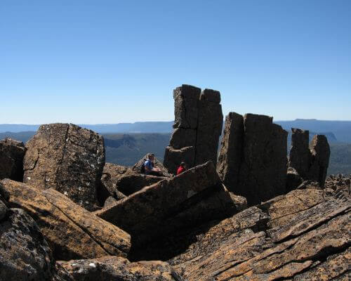 Rugged top Mt Pelion