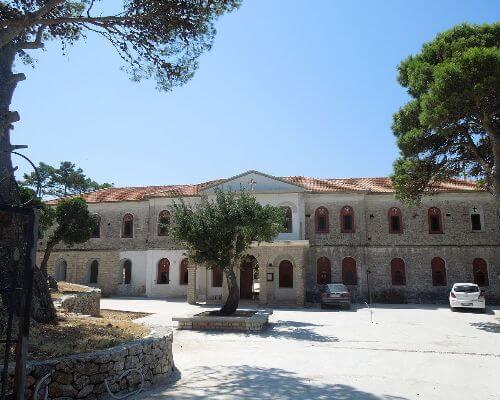Kathara monastery Anogi