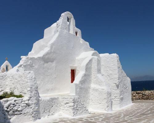 Mykonos chapel