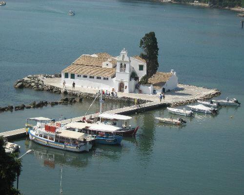 Vlaherna monastery Corfu