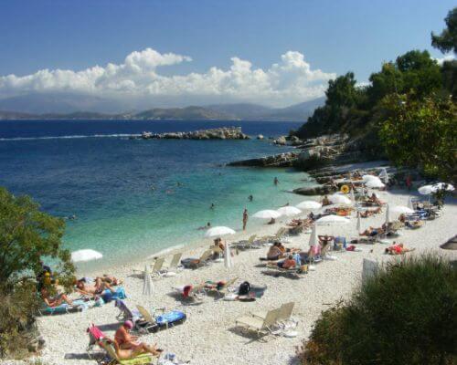 Kassiopi Bataria Beach