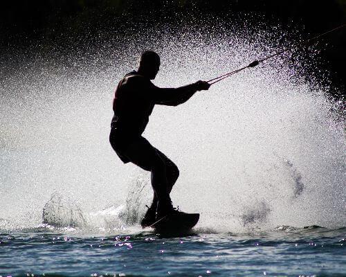 Water ski Greece